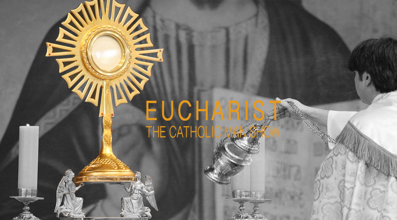 The Holy Eucharist Just A Symbol The Catholic Man Show
